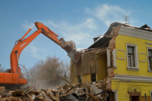 Снос домов, демонтаж зданий и сооружений